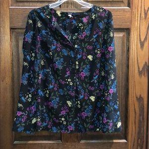 Kensie floral blouse